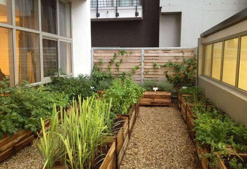 ایده ناب برای ساخت باغچه